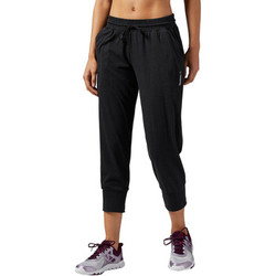 Vêtements Femme Pantacourts Reebok Sport Pantalon 3/4 Elements Noir