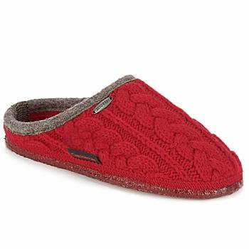 Chaussures Homme Chaussons Giesswein NEUDAU Cerise