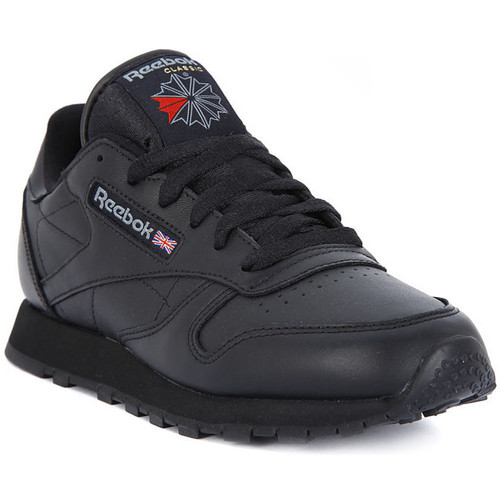 Chaussures Homme Baskets basses Reebok Sport CLASSIC LTHR Nero