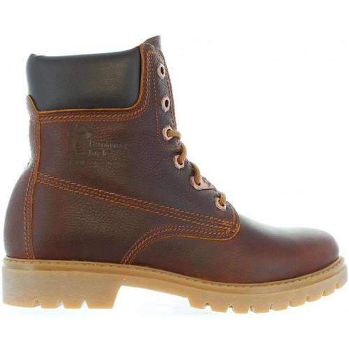Chaussures Femme Bottines Panama Jack PANAMA 03 B44 Marrón