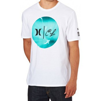 T-shirts manches courtes Hurley T-shirt  Clark Week  White