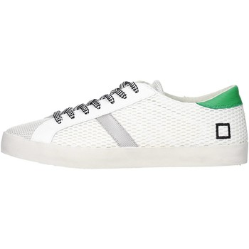 Baskets basses Date D.a.t.e. HILL LOW-46 Sneakers Homme Tissu  Blanc