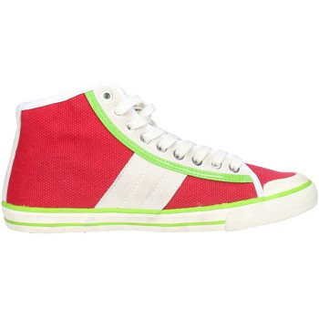 Chaussures Femme Baskets basses Date D.a.t.e. TENDER HIGH-92 Sneakers Femme Rouge Rouge