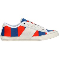 Baskets basses Date D.a.t.e. TENDER LOW-36 Sneakers Femme Tissu  Bleu/orange