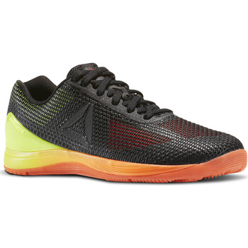 Chaussures Femme Fitness / Training Reebok Sport CrossFit Nano 7 Noir / Orange / Jaune
