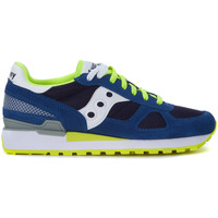 Chaussures Homme Baskets mode Saucony Basket  Shadow en suede bleu royal Bleu