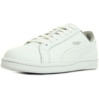 Chaussures Enfant Baskets basses Puma Smash Fun Leather blanc