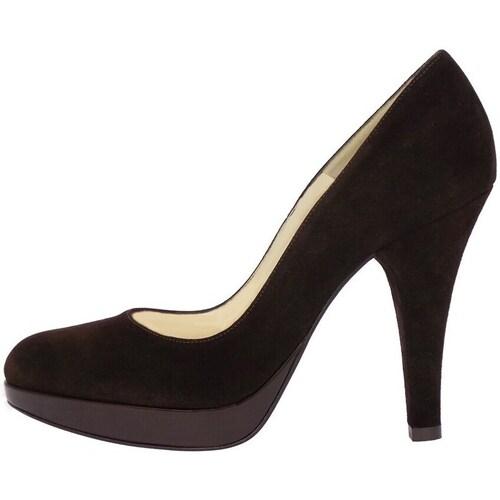 Chaussures Femme Escarpins Green Kelly 16 Escarpins Femme Brun foncé Brun foncé