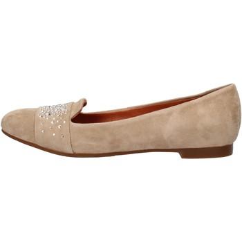 Chaussures Femme Mocassins Carmens Padova chaussures femme  mocassins beige daim AF37 beige
