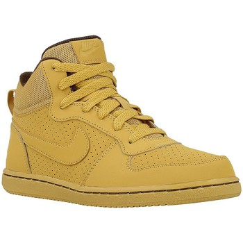 Chaussures Enfant Baskets montantes Nike Court Borough Mid Miel