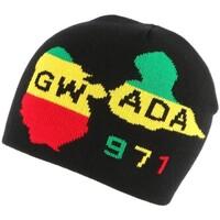 Accessoires textile Bonnets Nyls Création Bonnet noir Gwada 971 Noir