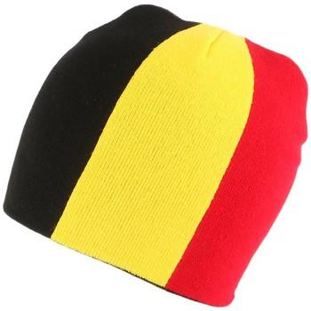 Accessoires textile Bonnets Nyls Création Bonnet Allemagne Noir Jaune Rouge Noir