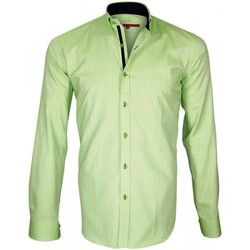 Vêtements Homme Chemises manches longues Andrew Mc Allister oxford brookes vert Vert