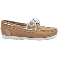 Chaussures Femme Mocassins Timberland Classic Boat Beige-Marron