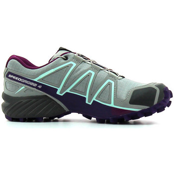 Chaussures Femme Running / trail Salomon Speedcross 4  Femme Quarry / Acai / Fair Aq