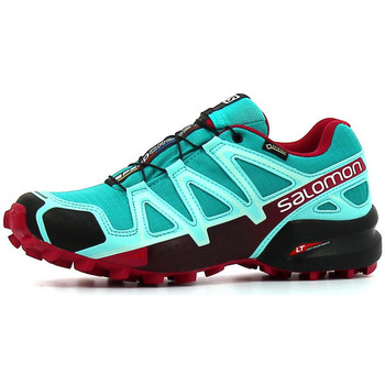 Chaussures Femme Running / trail Salomon Speedcross 4 GTX W Ceramic / Ablue