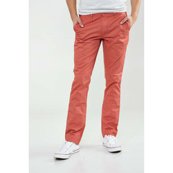 Vêtements Homme Pantalons Cheap Monday Pantalon  Slim Chino Corail Homme Corail