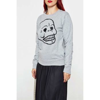 Vêtements Femme T-shirts manches longues Cheap Monday Sweat Ellie Gris Femme Gris