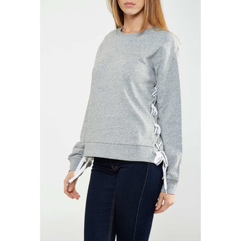 Vêtements Femme T-shirts manches longues Cheap Monday Sweatshirt  Alive Gris Chine Femme Gris