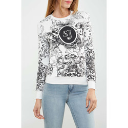 Vêtements Femme T-shirts manches longues Sixth June Sweat Shirt  Helium Blanc Femme Blanc