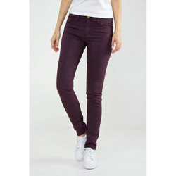 Vêtements Femme Jeans slim Shine Paris Jeans  Kate Bordeaux Femme Bordeaux