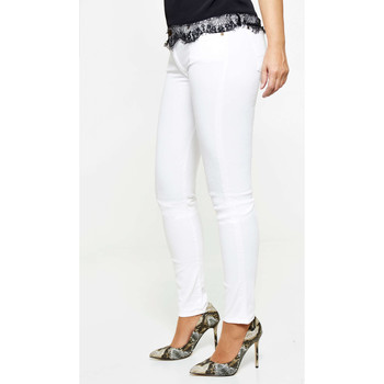 Vêtements Femme Jeans slim 7 for all Mankind Jeans  The Skinny Skinny Blanc Femme Blanc