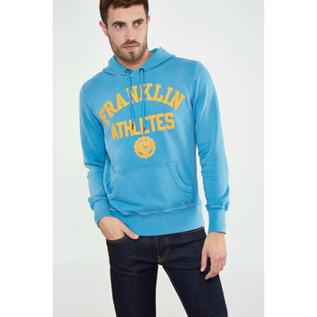 Vêtements Homme Sweats Franklin & Marshall Sweat Shirt A Capuche Franklin&marshall Flmr664s13 Turquoise Hom Turquoise