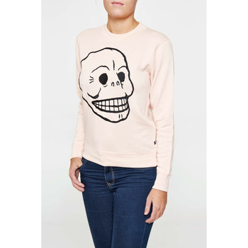 Vêtements Femme T-shirts manches longues Cheap Monday Sweat  Ellie Rose Femme Rose