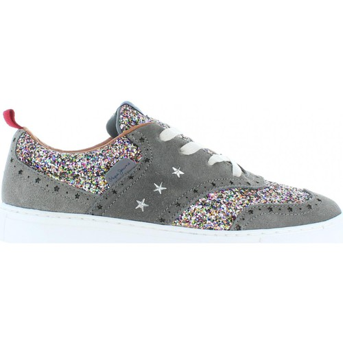 Chaussures Fille Ville basse Pepe jeans PGS30217 MONTREAL BROGUE Gris