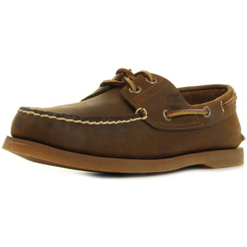 Chaussures Homme Chaussures bateau Timberland Classic Boat 2 Eye marron