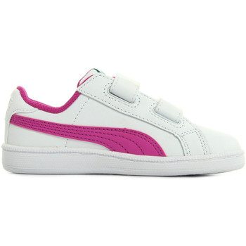 Chaussures Fille Baskets mode Puma Smash Fun L blanc