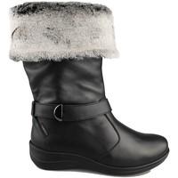 Chaussures Femme Bottes de neige Calzamedi BOTTE  0646 BLACK