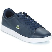 Chaussures Homme Baskets basses Lacoste CARNABY EVO BL Marine