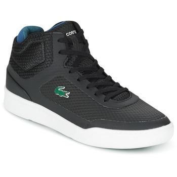 Chaussures Homme Baskets montantes Lacoste EXPLORATEUR SPT MID Noir / Vert