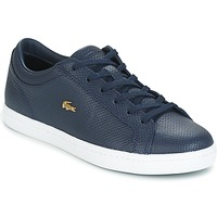 Chaussures Femme Baskets basses Lacoste STRAIGHTSET Marine