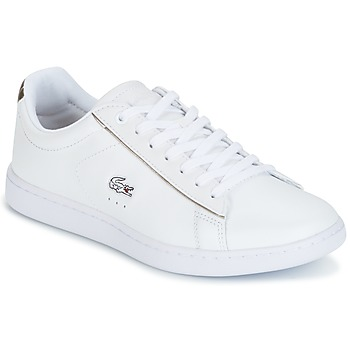 Chaussures Femme Baskets basses Lacoste CARNABY EVO Blanc