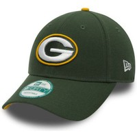 Accessoires textile Casquettes New Era Casquette New Era 940 Green Bay Packers The League 9Forty NFL Vert