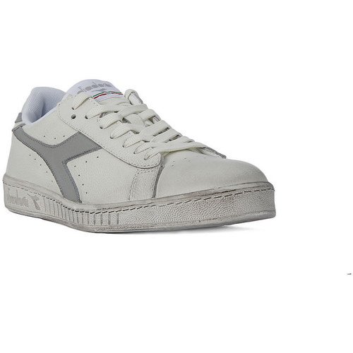 Chaussures Femme Baskets basses Diadora GAME LOW WAXED Grigio