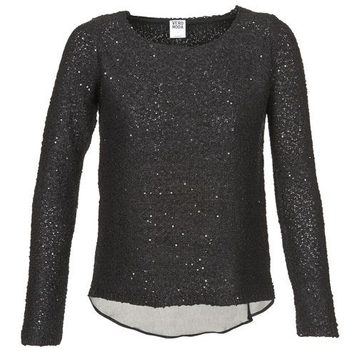 Vêtements Femme Pulls Vero Moda CHU Noir
