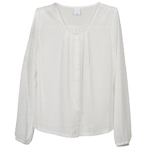 Vêtements Femme Tops / Blouses Vero Moda STORIES Ecru
