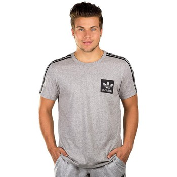 Vêtements Homme T-shirts manches courtes adidas Originals Street Essentials Gris