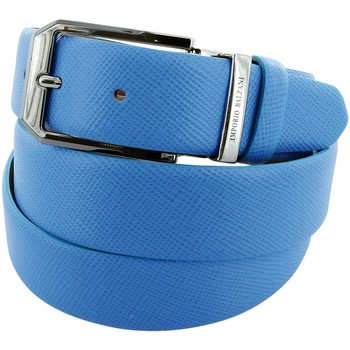Accessoires textile Homme Ceintures Emporio Balzani ceinture cuir lagoon bleu Bleu