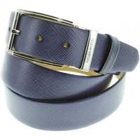 Accessoires textile Homme Ceintures Emporio Balzani ceinture cuir jeans bleu Bleu