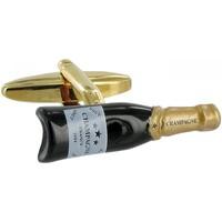 Montres & Bijoux Homme Boutons de manchettes Andrew Mc Allister boutons de manchettes champagne Doré