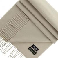 Accessoires textile Femme Echarpes   Etoles   Foulards Emporio Balzani  echarpe 100% cachemire beige Beige 683f95bc5c3