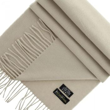 Accessoires textile Femme Echarpes / Etoles / Foulards Emporio Balzani echarpe 100% cachemire beige Beige