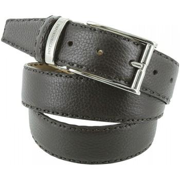Accessoires textile Homme Ceintures Emporio Balzani ceinture en cuir buffle marron Marron