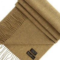 Accessoires textile Femme Echarpes / Etoles / Foulards Emporio Balzani echarpe laine & cachemire beige Beige