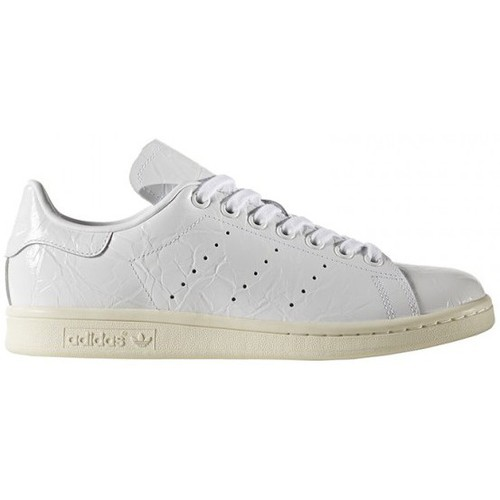 adidas originals stan smith w blanc blanc chaussures tennis femme 84 67. Black Bedroom Furniture Sets. Home Design Ideas