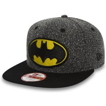 Accessoires textile Casquettes New Era Casquette New Era 9Fiifty DC Comics Batman Flecked Crown Gris Gris